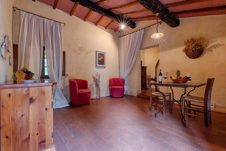 Castello Di Bossi - Sala da Pranzo