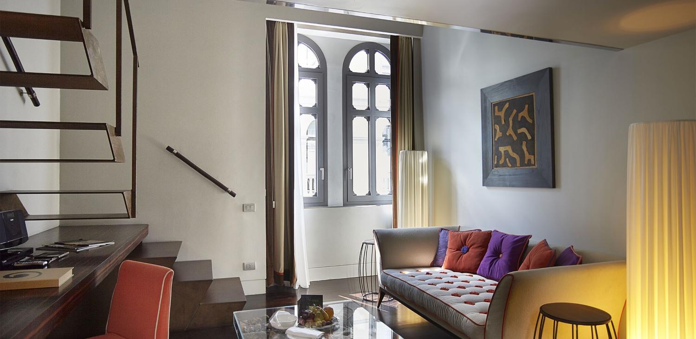 Sina the Gray - Milano - Living Room Junior Suite