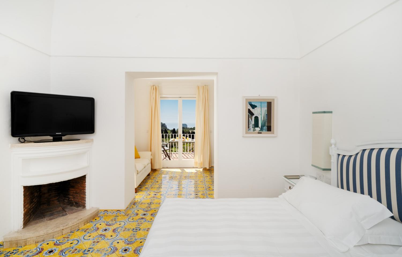 Sina Flora Capri - Junior Suite Balcony