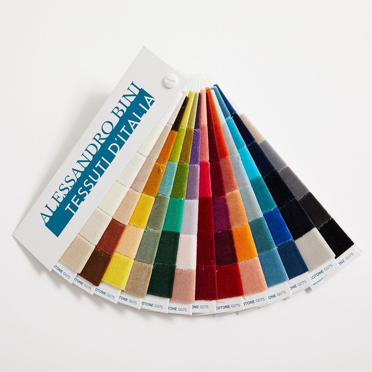Sample Velluto di cotone – Palette